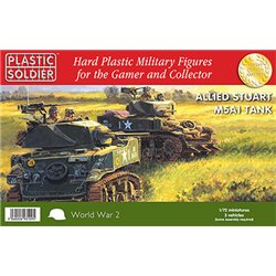 1/72nd Allied Stuart M5A1 Tank