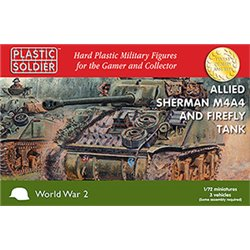 1/72nd Sherman M4A4/Firefly