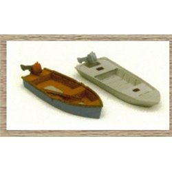 Small Sailing Boat/Dingy (OO/HO Scale 1/87th)