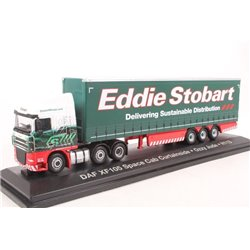 DAF FTGXF105 Curtainside Stobart