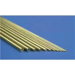 Brass Rod 0.45mm x 305mm packed 10s (BW045)