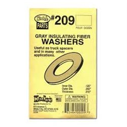 Grey Insulating Washers .010'' (4dz)