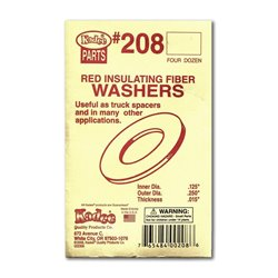 Red Insulating Washers .015'' (4dz)