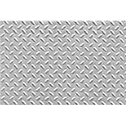 Diamond Plate Pattern Sheets OO/HO gauge (x2)