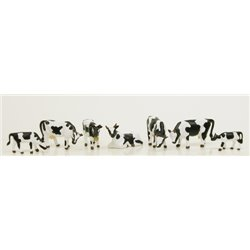 Black & White Cow & Calves (6)