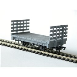 General Merchandise Flat Waggon with Slatted Ends