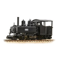 Baldwin Class 10-12-D 590 Welsh Highland Black
