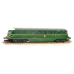 GWR Railcar W22W BR Brunswick Green Speed Whiskers