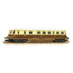 GWR Railcar 20 GWR Chocolate & Cream Shirt Button Emblem