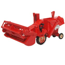 Combine Harvester Red