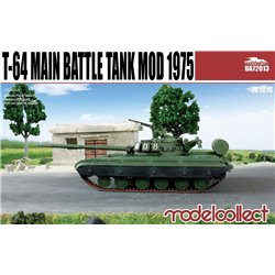 T-64 Main Battle Tank Mod 1975 - 1/72 scale