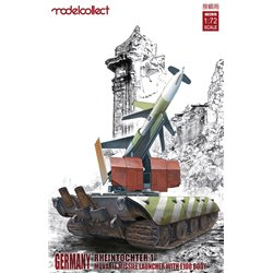 German Rheintochter 1 Movable Missile Launcher with E100 Body (Plastic Kits) - 1/72 scale