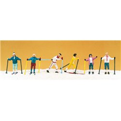 Cross Country Skiers (6) Exclusive