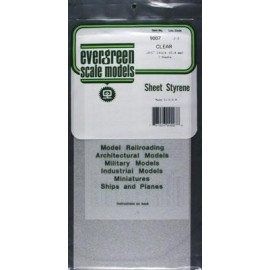 Clear Sheets 0.015in (x2) (0.381 mm)