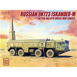 Russian 9K720 Iskander-M Tactical ballistic missile MZKT chassis