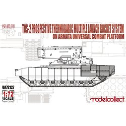 TOS-2 Prospective Thermobaric Multiplelaunch Rocket System