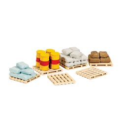 Pallets, Sacks, Barrels
