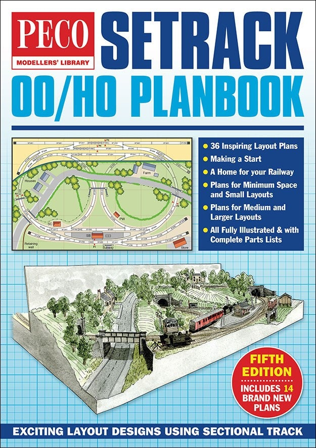 Peco STP//OO OO Gauge Track Plans Book NEW 5th Edition