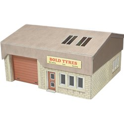 00/H0 Scale Industrial Unit