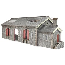 N Scale Settle/Carlisle Goods Shed