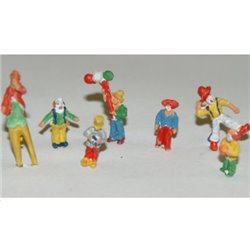 Circus Clown Figures - Unpainted