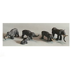 Zoo Elephants - Unpainted