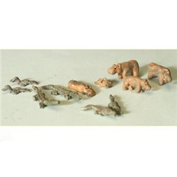 Water Based Animals (N scale 1/144th) - Unpainted