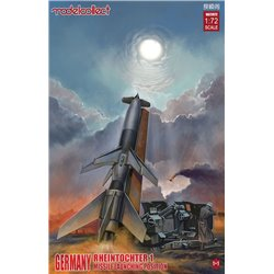 Germany WWII Rheintochter 1 missile launching - 1:72 scale model kit
