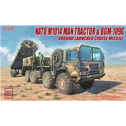 Nato M1001 MAN Tractor & BGM-109G Ground Launcher - 1:72 scale model kit