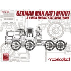 German MAN KAT1M1001 8*8 HIGH-Mobility off-road - 1:72 scale model kit