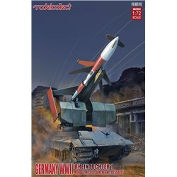 Rheintochter 1 movable Missile launcher with E50 body