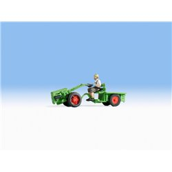 Two Wheel Tractor with Figure