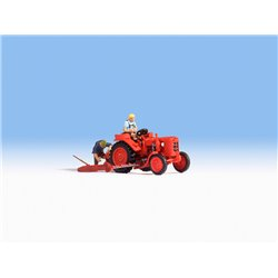 Tractor with Figure