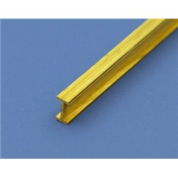 BRASS I BEAM 1X2X1MM