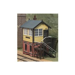 O Gauge, Signal Box, Brick Base