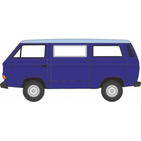 VW T25 Cornat Blue/Guinea Blue