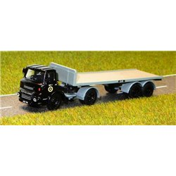 Leyland Beaver Articulated Flatbed Lorry