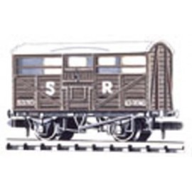 Cattle Wagon - British Railways livery