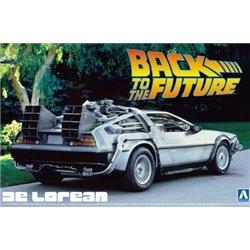 AOSHIMA 1/24 BACK TO THE FUTURE DELOREAN from PART I