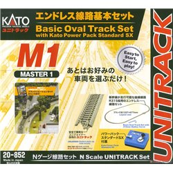 Unitrack (BM1) Basic Oval Track Set