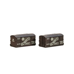 N Gauge Wagon Crates, GWR Furniture Removals (Pack of 2)
