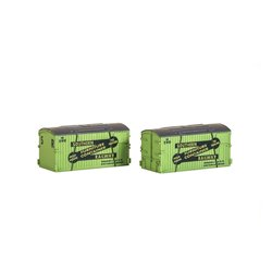 N Gauge Wagon Crates, SR Furniture Removals (Pack of 2)