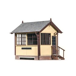 O gauge Ground Level Signal Box, Wood