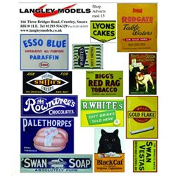Shop advertising signs (small)