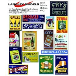 Street advertising signs (Small)