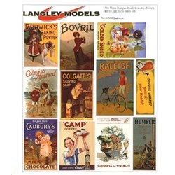 Enamel Sign Reproductions- World War 2 adverts (small)