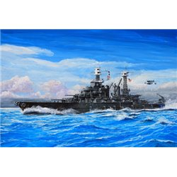 USS Maryland BB−46 1941 1:700 scale
