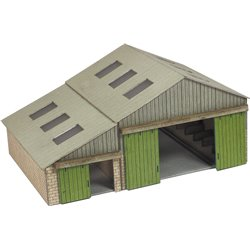 N Scale Manor Farm Buildings