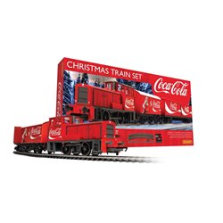 The Coca Cola Christmas Train set