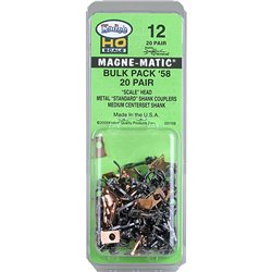 No.58 Scale Bulk Pack (19/64'') Centreset (2pr) Magne-Matic